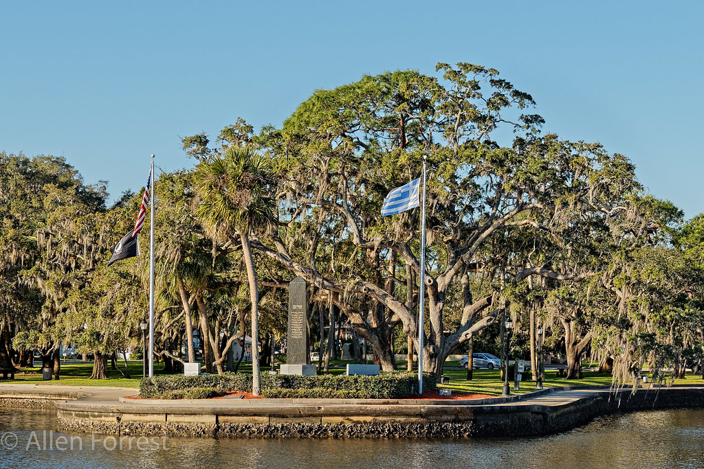 Tarpon Springs Condado De Pinellas Florida Around