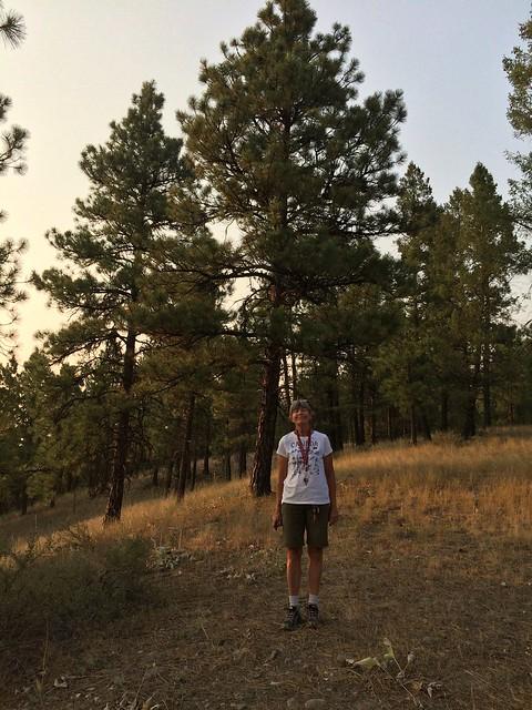 Wasa Linda on the trail