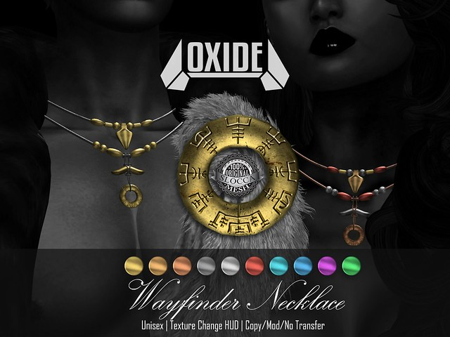 OXIDE Wayfinder Necklace - The Fantasy Collective