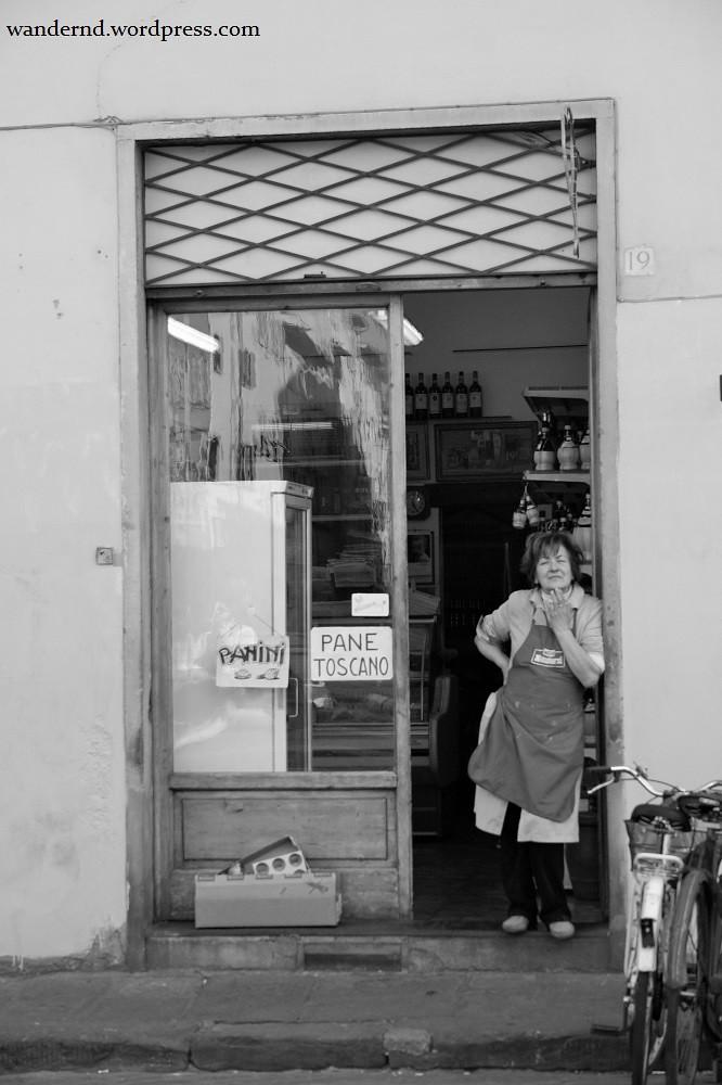 Firenze - Pane Toscano - bw