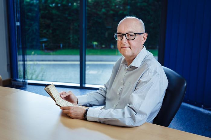 Andrew Carrick from Jelf Insurance Partnership. Photo: © James Mulkeen