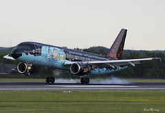 Brussels Airlines (Tintin Comics Livery) A320-214 OO-SNB
