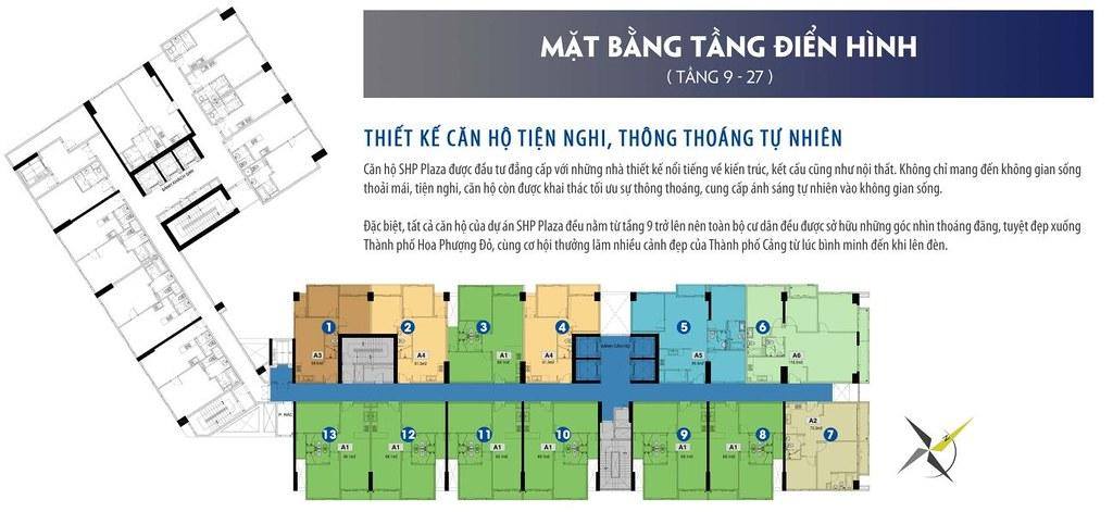"""mặt bằng điển hình của tòa cho thuê căn hộ SHP  <img src=""""images/"""" width="""""""" height="""""""" alt=""""Công ty Bất Động Sản Tanlong Land"""">"""