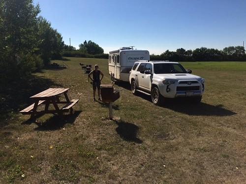Rowley campsite