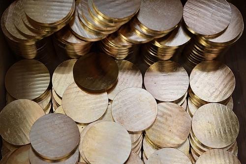 Monnaie de Paris medal blanks