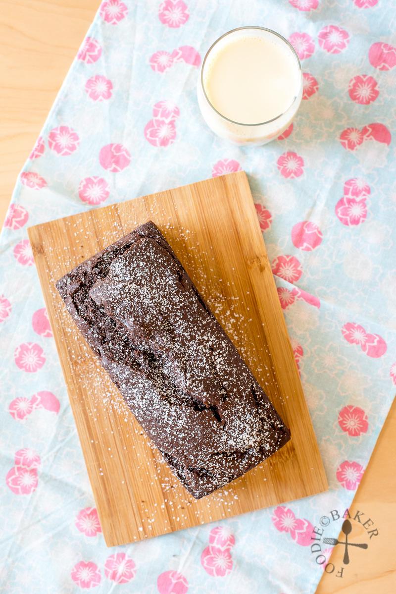 No-Mixer Okara Chocolate Cake