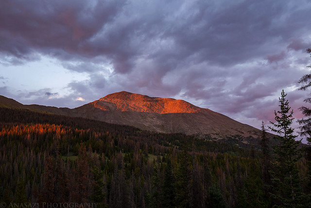 Mount Ouray Sunset