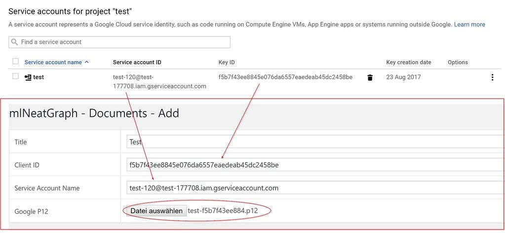 mlNeatGraph - Create google spreadsheet