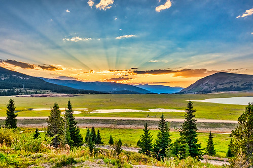 2017 colorado hdr handheld landscape luminar rx100m3 sunset usa