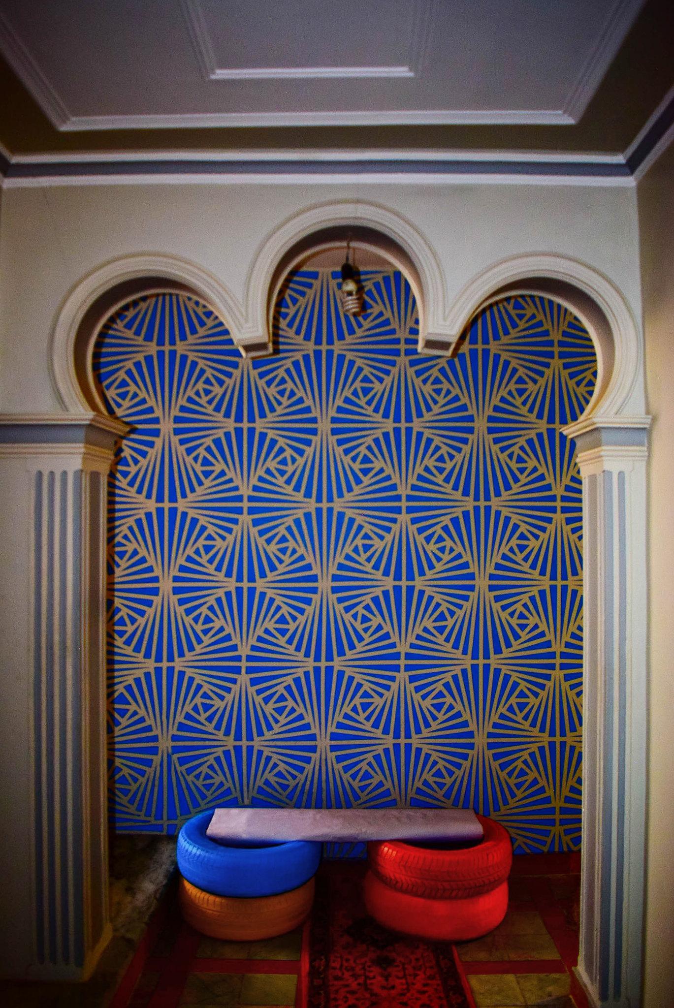 geometric paint
