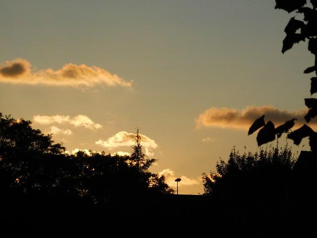 26/08-02/09/2017 Cabourg Vendredi 1er Septembre soir: coucher de soleil sur Cabourg