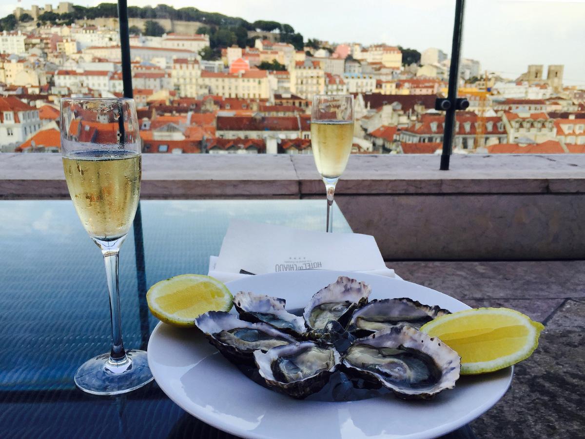 Lissabon näköalapaikat Hotel do Chiado