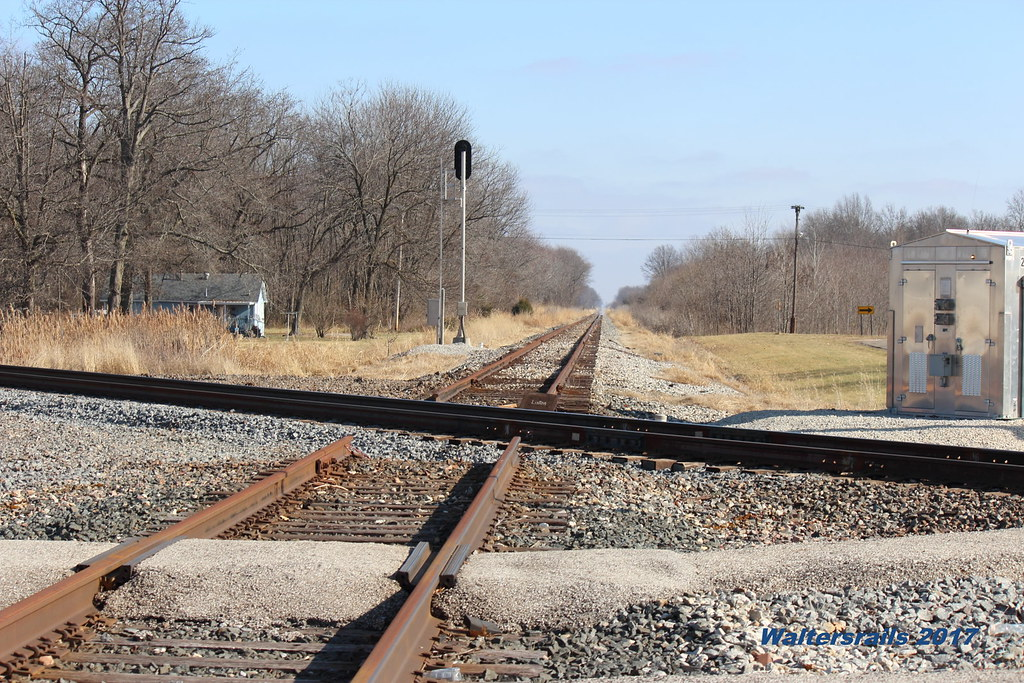 Odin il looking east on CSX