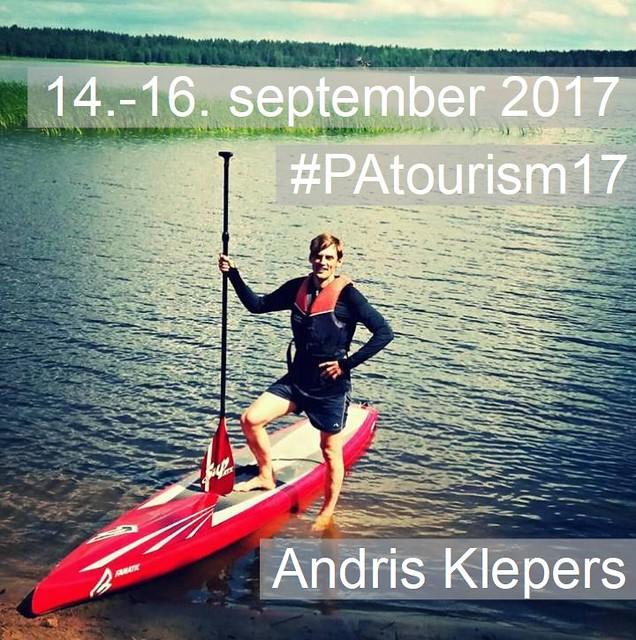 Andris Klepers - speaker at #PAtourism17