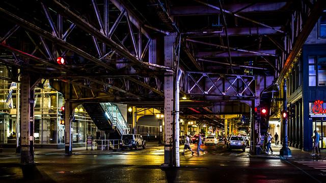 The street beneath the underground