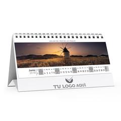 Calendario de Sobremesa 2018 Personalizable (Lámina interior mes cara B)