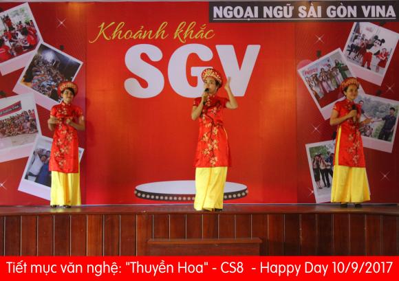 Happy Day 10 tháng 9 năm 2017 - Ngoại Ngữ SGV