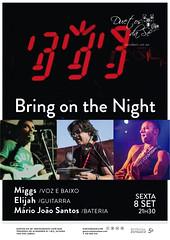 CONCERTO - Duetos da Sé - Alfama Lisboa - SEXTA-FEIRA 8 DE SETEMBRO 2017 - 21h30 - Bring on the Night