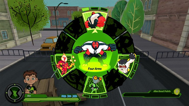 Ben 10 Video Game_four arms