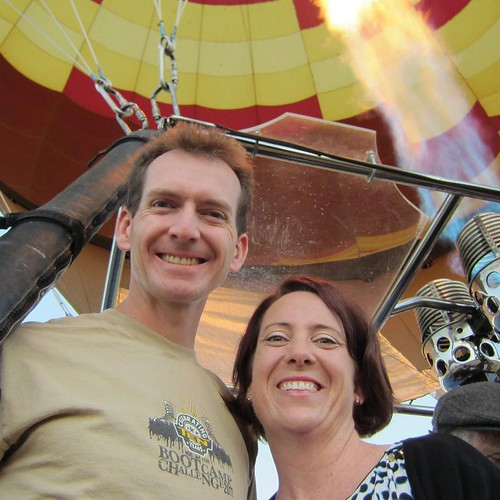 Fly away with me. Throwback to anniversary hot air balloon ride, Temecula Valley 2012.
