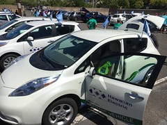 Hawaiian Electric at the Electric Island Drive and Vehicle Fair - September 17, 2017: The EV Fleet