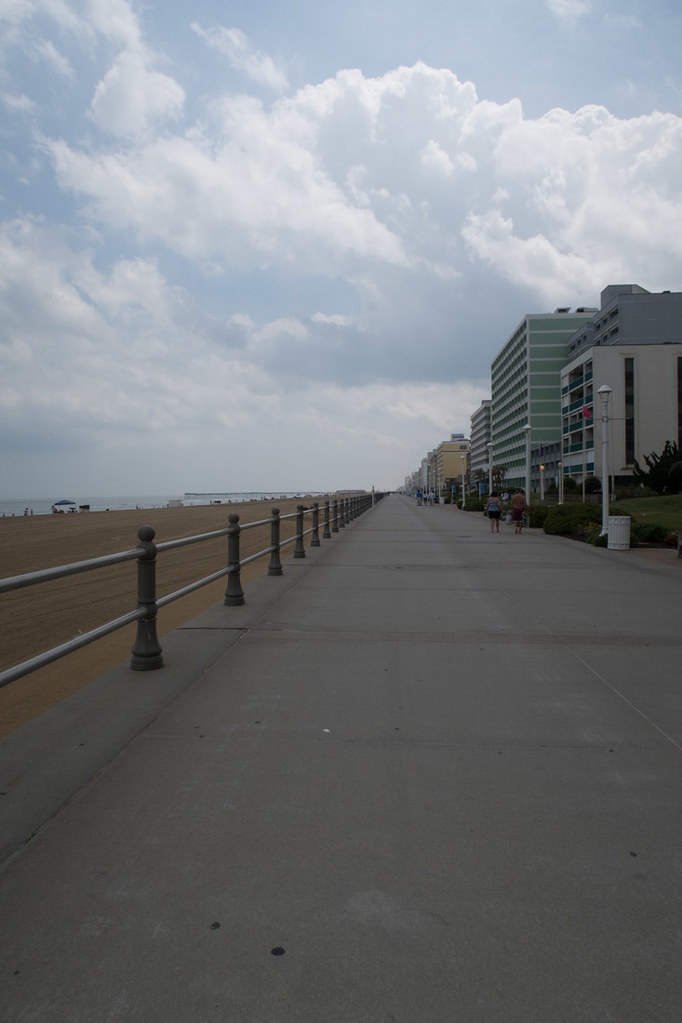 Virginia Beach Boardwalk, Military Aviation Museum, and First