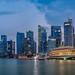 Singapore Blue Hour