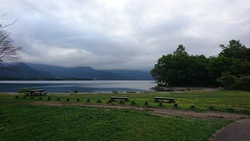 屈斜路湖の湖面を眺めながら入れる露天風呂がとても気持ちよかった。