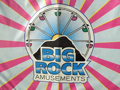 Big Rock Amusements Banner.