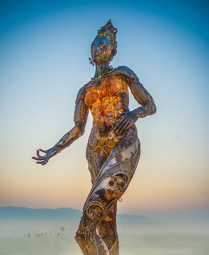 Burning Man Glow