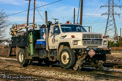Ford F800 MoW Truck | CN Memphis Subdivision