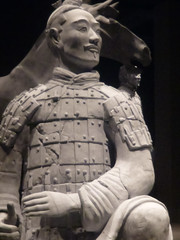 Infrared Terracotta Warrior
