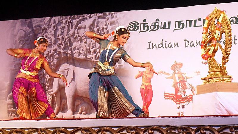 Indian Dance Festival Mamallapuram, Tamil Nadu, INDIA, January 2013