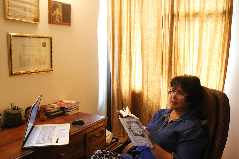 Home Sweet Home – Writer Taslima Nasrin's Study, Somewhere in Delhi
