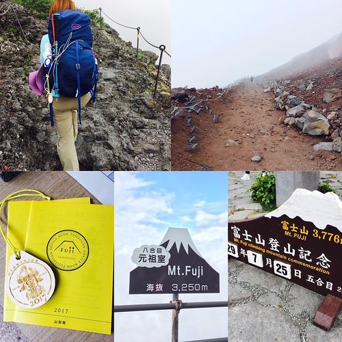 [富士山登山遊記.上集] 我靠著無敵決心和超強女力登頂富士山, 妳/你一定也可以 !