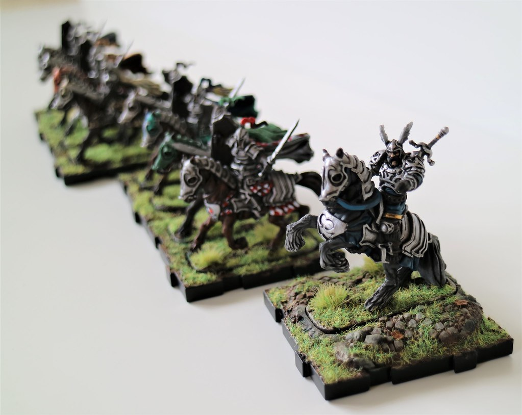 Runewars Miniatures Cavalry Charge