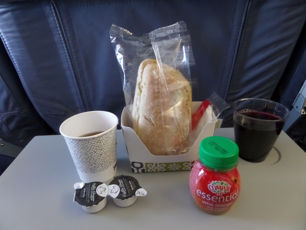 TAP Airlines meal