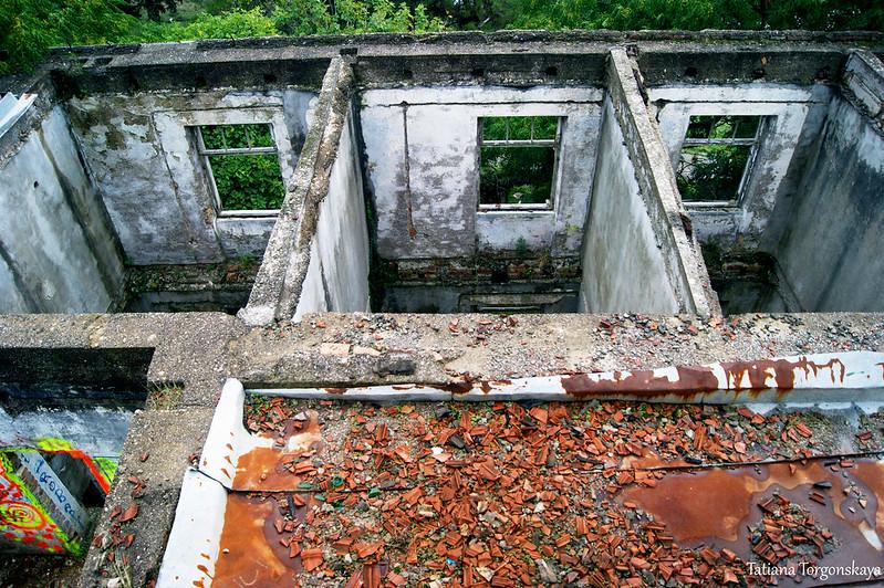 Фрагмент жилого комплекса, вид сверху