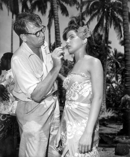 Bird of Paradise - 1951 - backstage