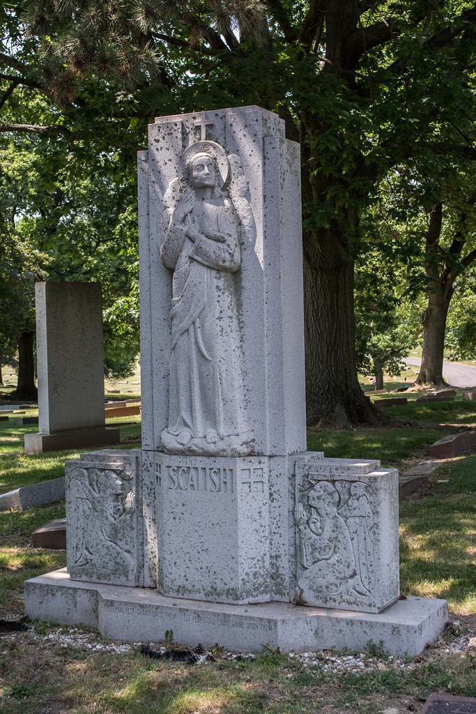Scalish family memorial - Calvary Cemetery