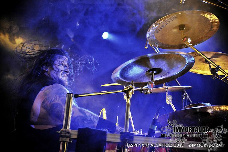 ASPHYX @ Alcatraz Hard Rock & Metal Festival 2017 36064995914_c3b343e735_c