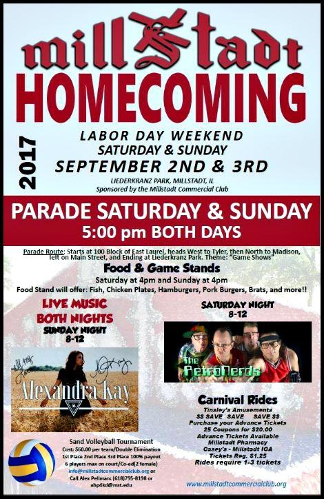 Millstadt Homecoming 9-2, 9-3-17