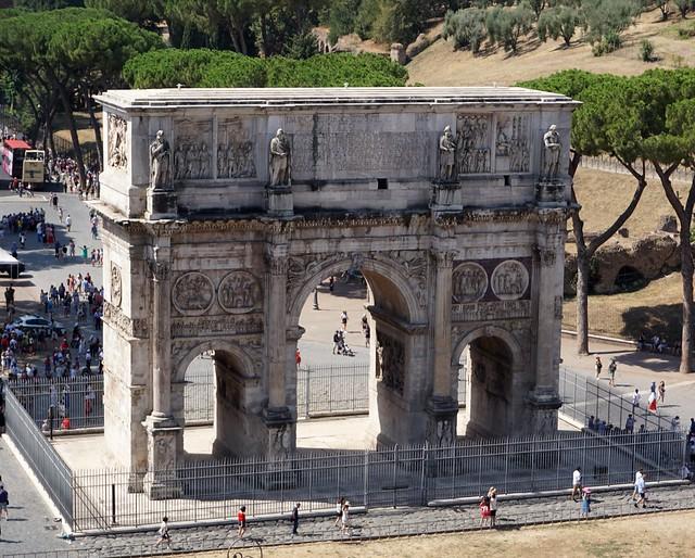 Arch of Constantine / Arc de Constantí, Roma