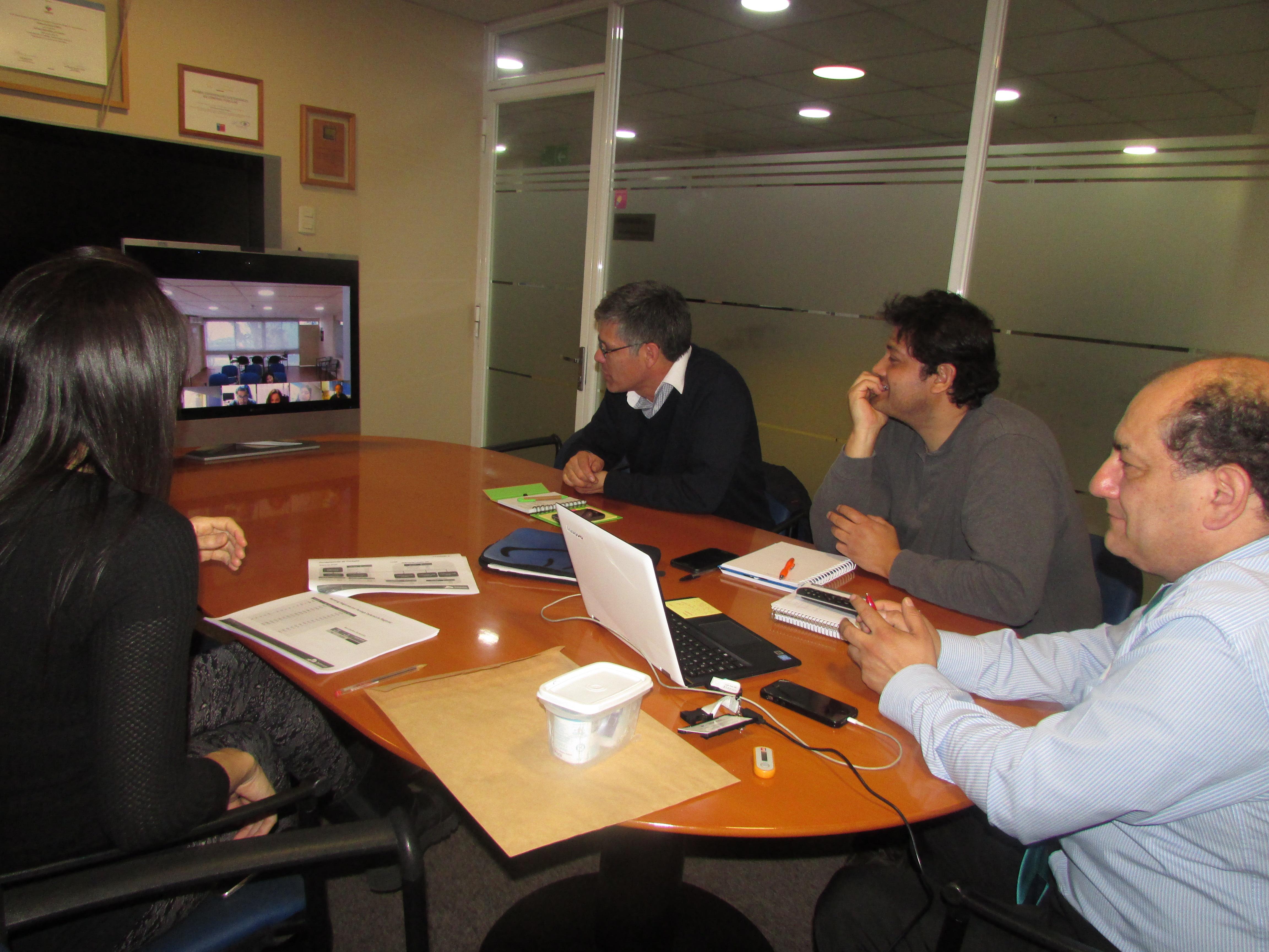 Videoconferencia con Regionales de AFUDEP por proyecto Fortalecimiento de la DPP - 21 Agosto 2017