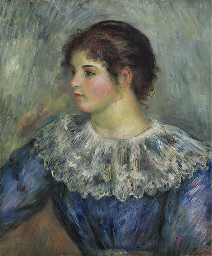 Pierre Auguste Renoir - Portrait of a Young Girl, 1893
