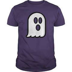 Ghost Costume, Tees, Long Sleeve and Hoodie. Perfect Halloween Costume T-Shirt Design for Everyone. Ghost T-Shirt Costumes for Halloween