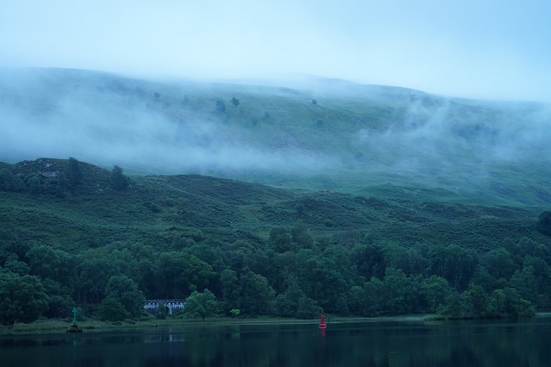 Loch Oich, River Gary Anchorage, Early Morning