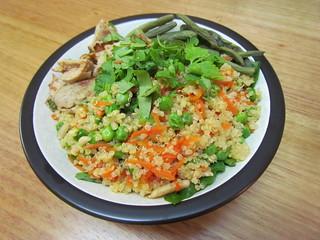 Quick Quinoa Pilaf