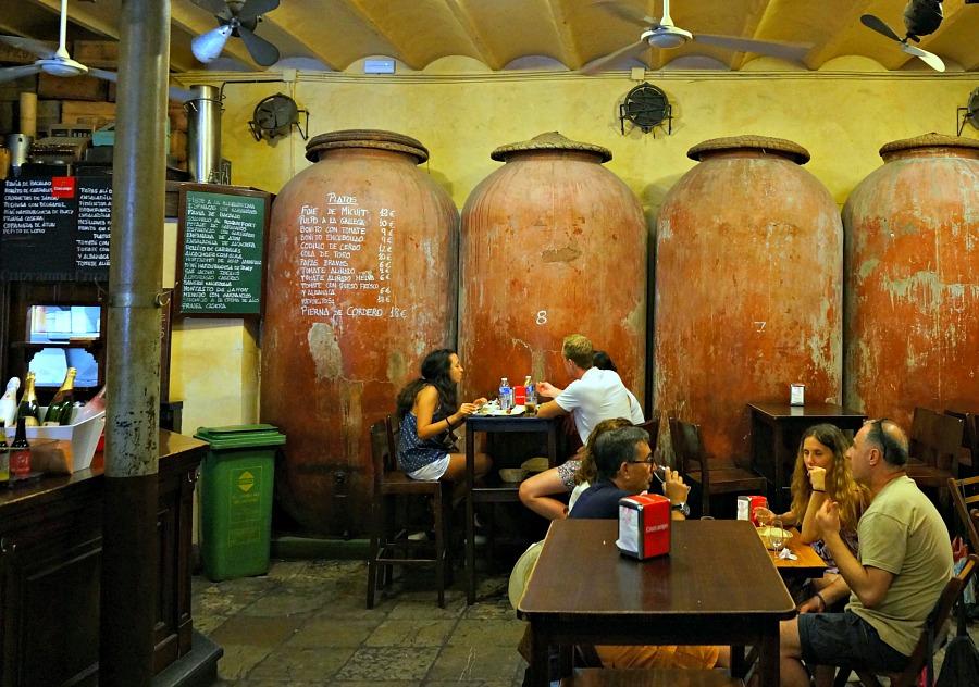 Seville Spain Bar