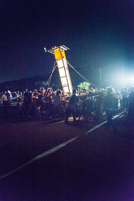 能登向田火祭, Nikon D610, Sigma 24-70mm F2.8 IF EX DG HSM